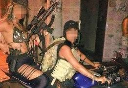 Bandivas: mulheres ostentam armas na Internet e podem parar na cadeia