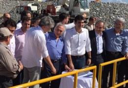 VEJA AO VIVO: cerimônia de inauguração do eixo leste reúne várias autoridades