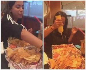 anitta 300x243 - Anitta posta fotos de comilança nos EUA