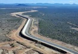 Sertão da PB deverá ter água da transposição até dezembro deste ano, diz ministério