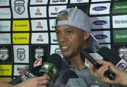 Marcelinho Paraíba fala do desejo de voltar a jogar futebol o quanto antes