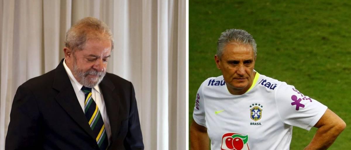 naom 58d551785d3d9 - Internautas pedem Tite como 'vice' de Lula em 2018