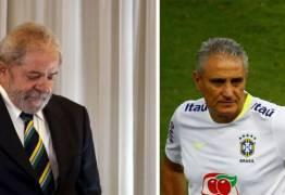 Internautas pedem Tite como 'vice' de Lula em 2018