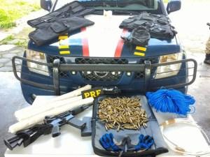 vale2 300x225 - Jovem de 23 anos é presa pela PRF levando arsenal para São Paulo