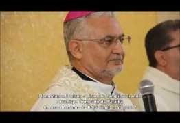 """Arcebispo da Paraíba Dom Delson grava mensagem apoiando paralização geral do dia 28 –  """"Vamos parar o Brasil""""  – OUÇA !"""