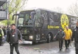 Explosão atinge ônibus do Borussia Dortmund e deixa jogador ferido