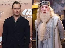 "jude law dumbledore - Jude Law representará Dumbledore mais jovem na sequência de ""Animais Fantásticos"""
