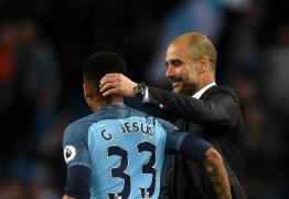 Guardiola elogia Gabriel Jesus após retorno: 'É um cara especial'