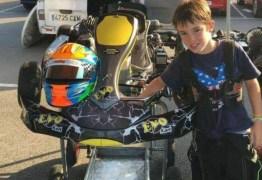 Piloto de 11 anos de idade capota em pista de kart de Fernando Alonso e morre