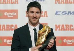 Messi consegue a sua quarta Chuteira de Ouro na carreira