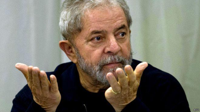 150727213719 lula 624x351 afp - 'Não acredito', diz Lula sobre possibilidade de prisão pela Lava-Jato