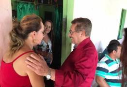 José Maranhão visitou Jacaraú neste sábado à convite de lideranças locais