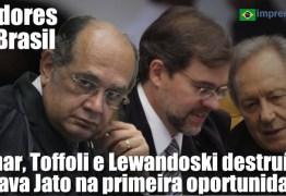 O maior escândalo de corrupção foi posto a nu, mas a Lava Jato é maior do que o STF – Por Fernando Gabeira