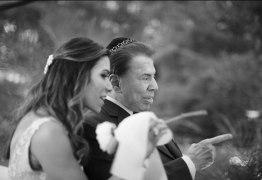 Silvio Santos vira atração principal em casamento da filha, Patrícia Abravanel
