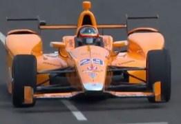 Alonso comemora melhorias no carro e fala sobre nervosismo para estréia na Indy 500