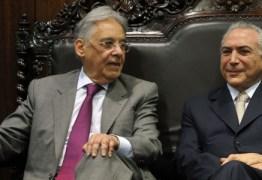 Em novo artigo FHC chama governo Temer de pinguela e afirma que PSDB deve abandonar o barco