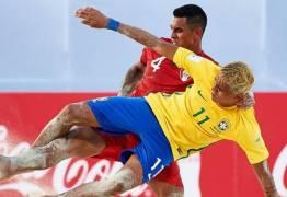 Brasil vence e pega Portugal nas quartas do Mundial de Beach Soccer