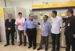 Rômulo Gouveia participa de reabertura dos Correios de Massaranduba e discute com Infraero melhorias para os aeroportos de JP e CG