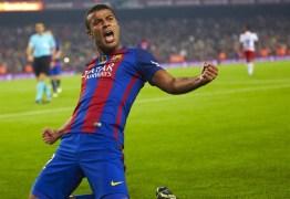 Rafinha sobre indefinição no Barça: 'Só Deus sabe o que vai acontecer'