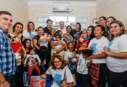 Cartaxo anuncia série de ações para bebês com microcefalia e suas mães