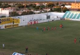 Sousa abre 2 a 0 mas cede o empate ao Juazeirense-BA e sai da zona de classificação