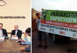CNBB apoia greve geral que para o Brasil nesta sexta
