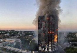 Incêndio atinge prédio de 24 andares e deixa 6 mortos em Londres