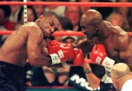 Mordida de Mike Tyson na orelha de Holyfield completa duas décadas