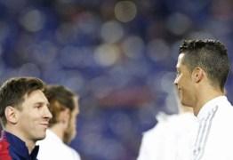 Messi fala em se aposentar no Barça e elogia CR7: 'Se supera'