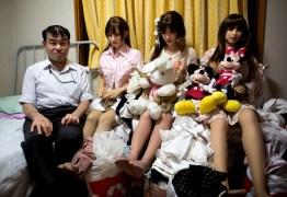 Japoneses perdem esposas e encontram o amor em bonecas de silicone