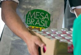 Mesa Brasil realiza doação de alimentos arrecadados durante o IX Arraiá do Sesc em Campina Grande