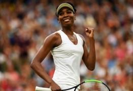 Aos 37 anos Venus Williams é tão boa quanto um top 20 masculino