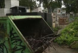 Polícia identifica mulher que abandonou bebê em cemitério de Campina Grande