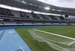 Engenhão vai receber o duelo entre Vasco e Santos, com portões fechados