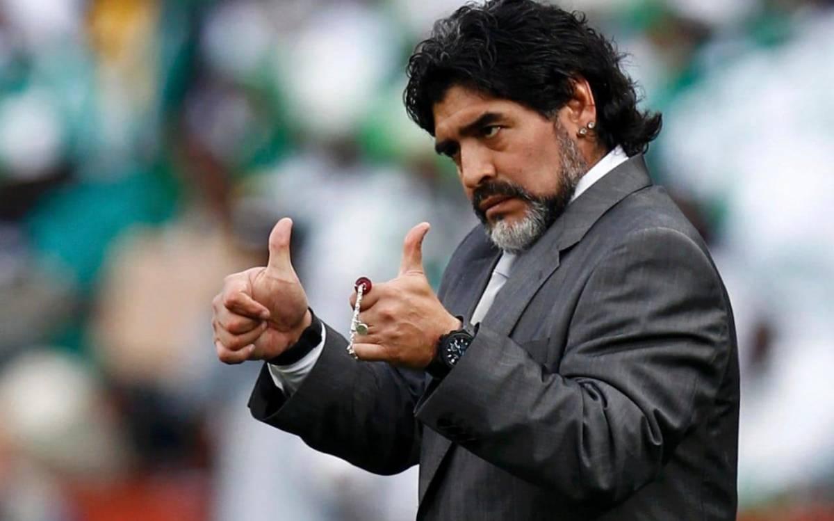 maradona 1 - RECUPERAÇÃO: Médico garante que Maradona está cinco quilos mais magro e livre da cocaína