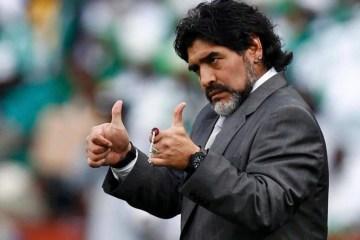 RECUPERAÇÃO: Médico garante que Maradona está cinco quilos mais magro e livre da cocaína