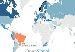 RANKING: Brasil está entre os piores países com conexão 4G; Confira
