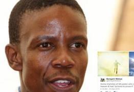 Pastor publica fotos 'tiradas no céu' e diz que foi ao inferno e matou o demônio