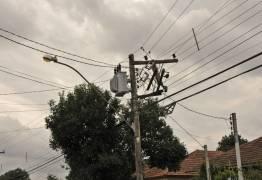 Acidentes com veículos provocaram a substituição de 185 postes de energia nos cinco primeiros meses do ano