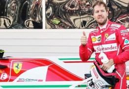 Após teste Sebastian Vettel reprova escudo para carros de Fórmula 1