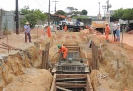 Governo realiza obras de infraestrutura no Distrito Industrial de Mangabeira