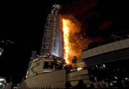 Incêndio em Dubai atinge um dos prédios residenciais mais altos do mundo – VEJA VÍDEO