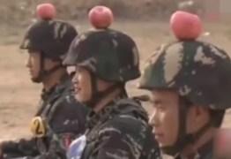 Exército chinês utiliza alvos vivos para treinamento – VEJA VÍDEO