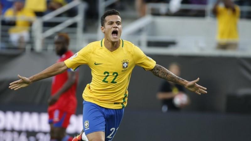 Philippe Coutinho2 - Coutinho treina e deve ser titular pela seleção