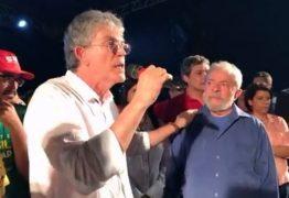 Ricardo Coutinho: 'O povo apoia Lula porque a ficha caiu'