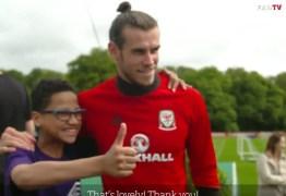 VEJA O VÍDEO: Torcedor vai à loucura com Gareth Bale