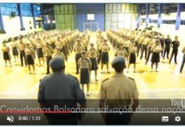 VEJA VÍDEO: Contrariando 'Escola sem Partido' alunos de colégio militar chamam Bolsonaro de 'salvação da nação'