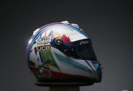 Massa ganha capacete especial para retorno à F1