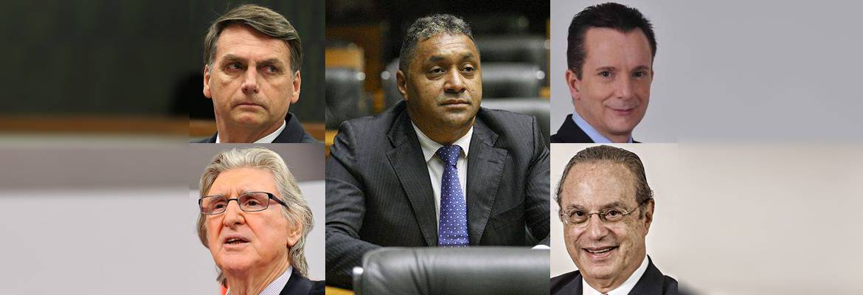 ccj deputatos peculiares - FAMOSOS EM EVIDÊNCIA: Confira como foi a votação dos deputados mais badalados do Congresso Federal
