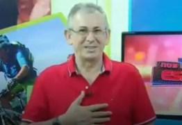 VEJA VÍDEO: Apresentador de afiliada da Record desmaia durante ao vivo